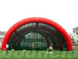 China 0.4mm PVC-Plane aufblasbare Paintball-Arena/aufblasbares Paintball-Feld usine