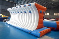 165 People Capacity Inflatable Water Park Customized Color TUV Certificate