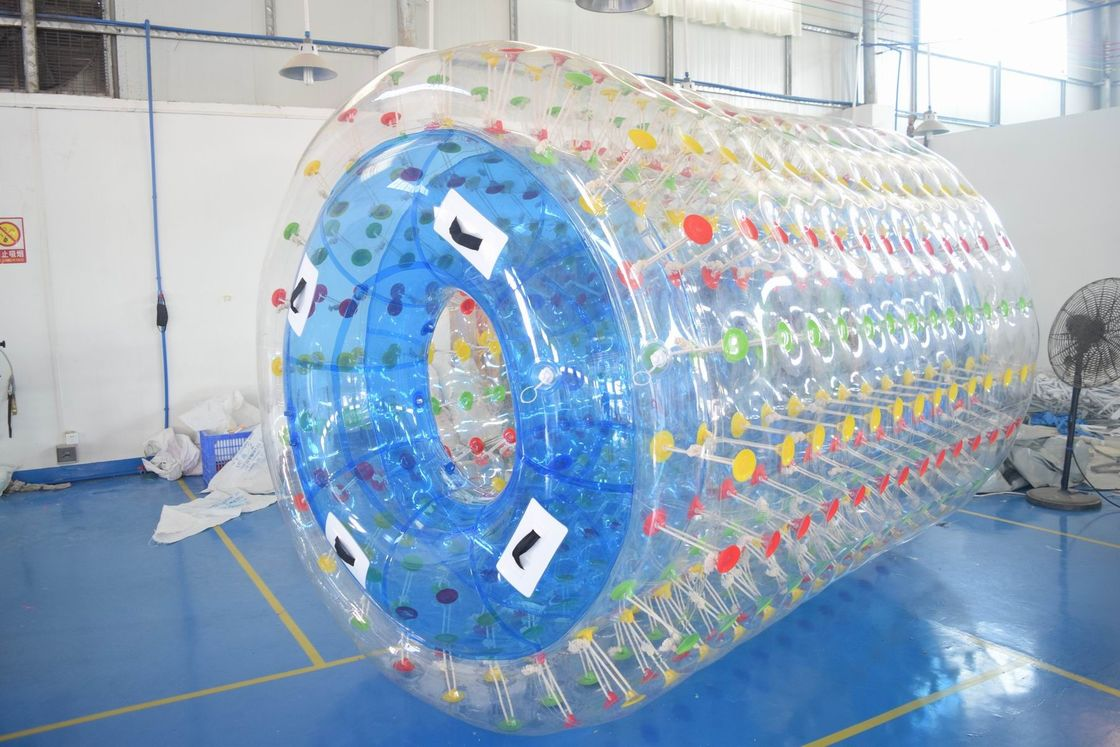 2.8m Long Water Roller Ball , Inflatable Roller For Lake Or Swimming Pool