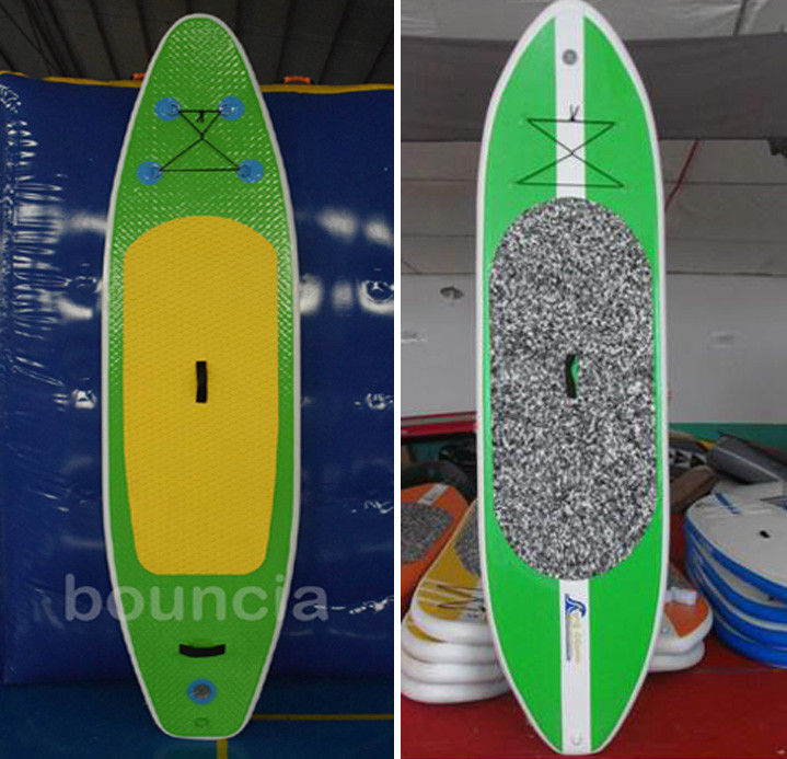 Durable PVC Tarpaulin Surfboard / Inflatable SUP Board For Water Sports