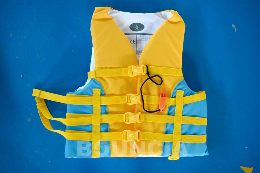 Water Park Inflatable Buoyancy Vest For Sea Or Lake