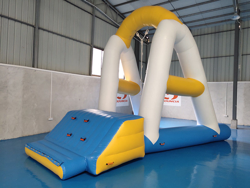 Floating Inflatable Water Park Games 0.9mm PVC Tarpaulin Material