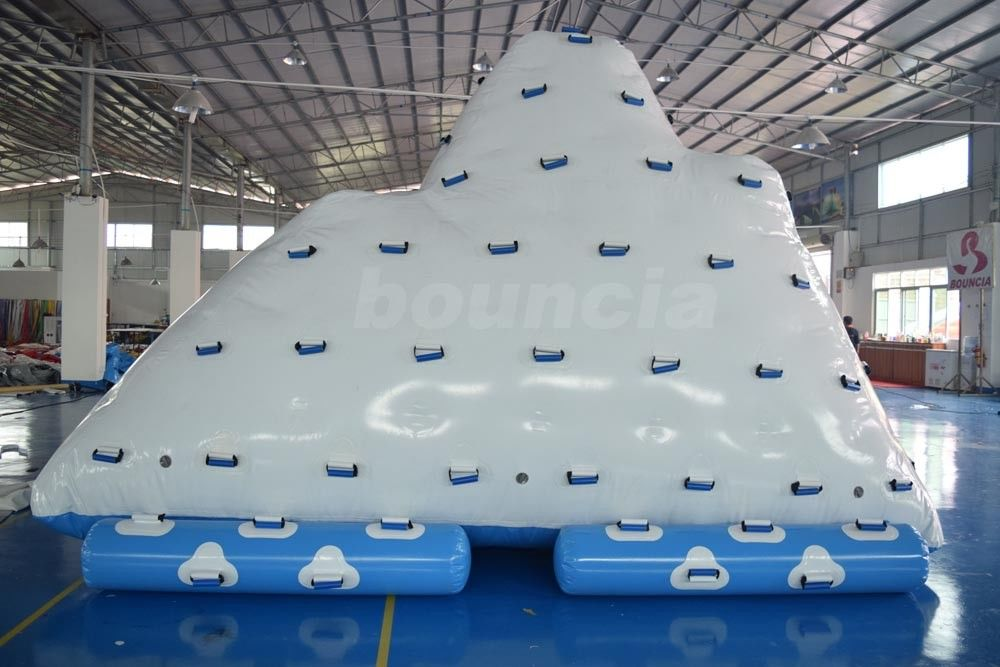Commercial Inflatable Water Iceberg / Inflatable Aqua Iceberg For Lake